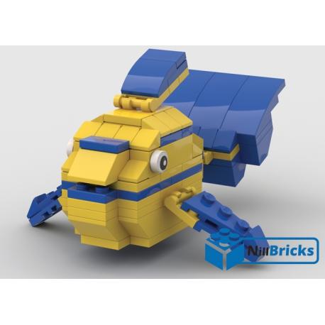NOTICE DE MONTAGE NILLBRICKS LEGO LE POISSON TROPICAL 4 : NM00312