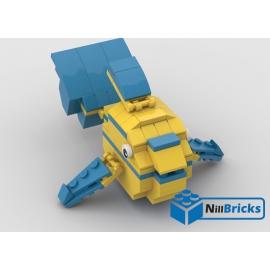 NOTICE DE MONTAGE NILLBRICKS LEGO LE POISSON TROPICAL 6 : NM00314