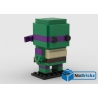 NOTICE DE MONTAGE NILLBRICKS LEGO BRICKHEADZ TORTUE NINJA 3 DONATELLO : NM00317