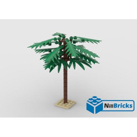NOTICE DE MONTAGE NILLBRICKS LEGO PALMIER : NM00320