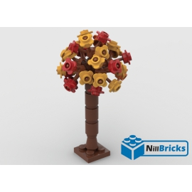 NOTICE DE MONTAGE NILLBRICKS LEGO ARBRE 4 : NM00322