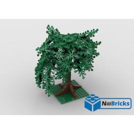 NOTICE DE MONTAGE NILLBRICKS LEGO SAULE PLEUREUR : NM00323