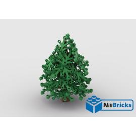 NOTICE DE MONTAGE NILLBRICKS LEGO SAPIN VERT : NM00327