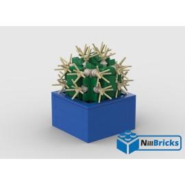 NOTICE DE MONTAGE NILLBRICKS LEGO CACTUS1 : NM00328