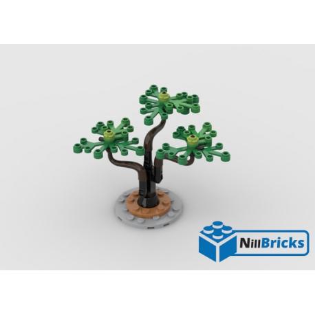 NOTICE DE MONTAGE NILLBRICKS LEGO ARBRE CHINOIS 2 : NM00332