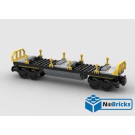 NOTICE DE MONTAGE NILLBRICKS LEGO WAGON 6 PORTE CONTENEUR : NM00337