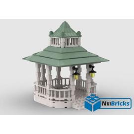 NOTICE DE MONTAGE NILLBRICKS LEGO KIOSQUE : NM00345