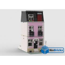 NOTICE DE MONTAGE NILLBRICKS LEGO MAISON DE VILLE 13 ROSE : NM00362