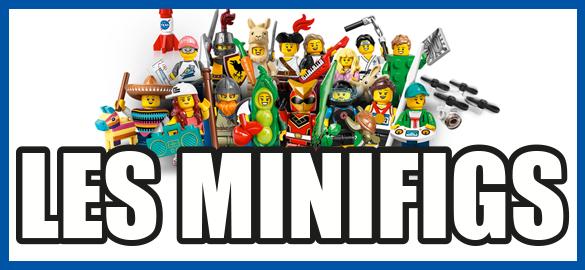 LES MINIFIGS LEGO